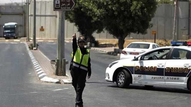 Une policière israélienne.