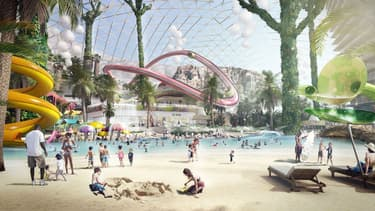 Le projet EuropaCity prévoit notamment la création d'un parc aquatique.