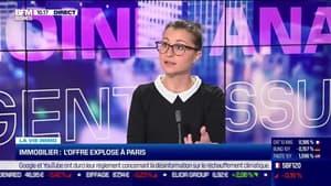 Marie Coeurderoy: L'offre de l'immobilier explose à Paris - 08/10