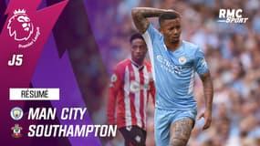 Résumé : Manchester City 0-0 Southampton – Premier League (J5)