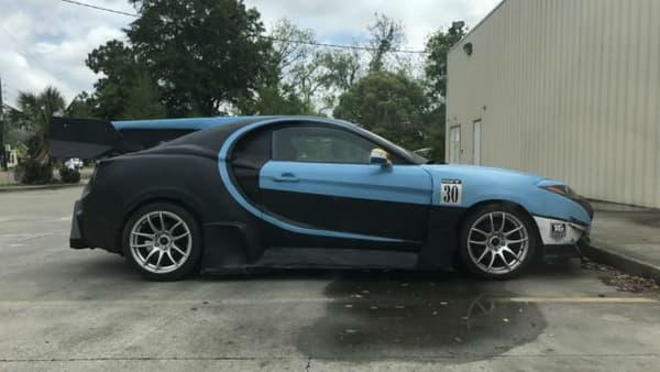 La tentative d'imitation d'une Bugatti Chiron