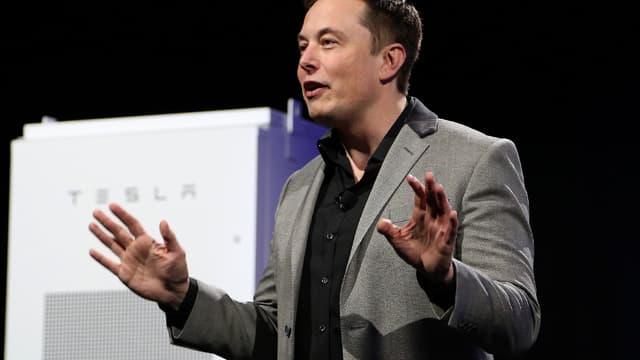 Elon Musk, le fondateur et patron de Tesla