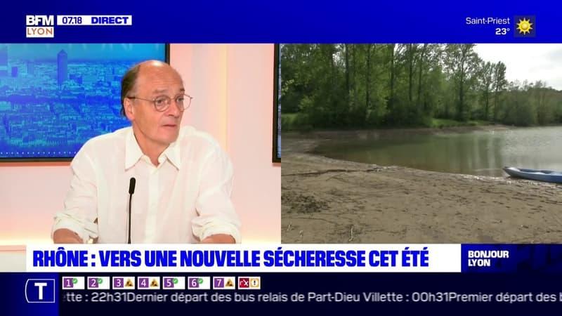 Sécheresse dans le Rhône: une augmentation de 2°C en moyenne au printemps depuis cinquante ans