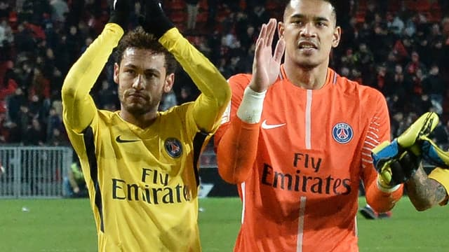 Neymar - Alphonse Areola