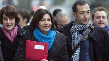 Anne Hidalgo a déposé sa liste du XVe arrondissement mercredi matin