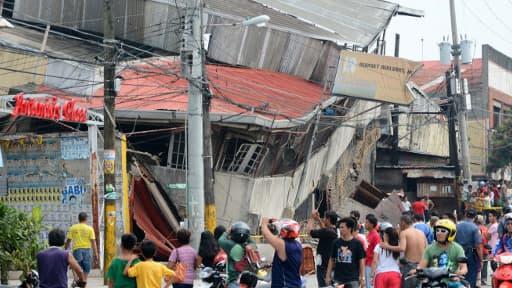Le séisme de magnitude 7,1 a eu lieu près de la région touristique de Cebu, au centre de l'archipel