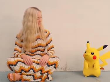 """Katy Perry et Pikachu dans le clip de """"Electric"""""""