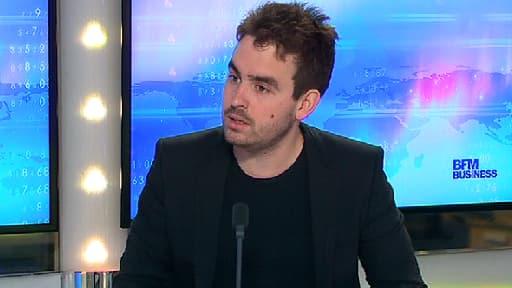 """Paul Morlet, fondateur de """"Lunettes pour tous"""", était l'invité de Stéphane Soumier dans Good Morning Business ce 26 mai."""