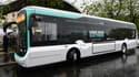 """Un """"bluebus"""" 100% électrique de la RATP"""