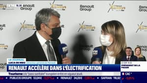 Renault accélère dans l'électrification en y investissant dix milliards d'euros sur 5 ans