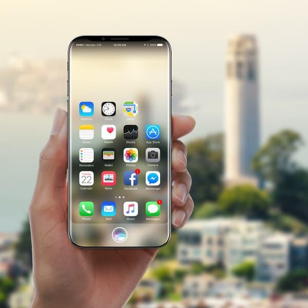 L'iPhone 8 pourrait ressembler à ce concept imaginé par le cabinet de design Gabor Balogh