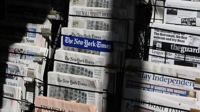Un kiosque à journaux, à San Francisco. (photo d'illustration)
