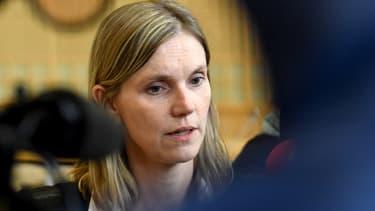 La secrétaire d'État à l'Économie Agnès Pannier-Runacher