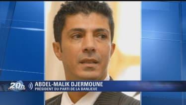 """Abdel-Malik Djermoune s'est exprimé sur BFMTV sur la création du """"parti de la banlieue"""" le 31 octobre 2013."""