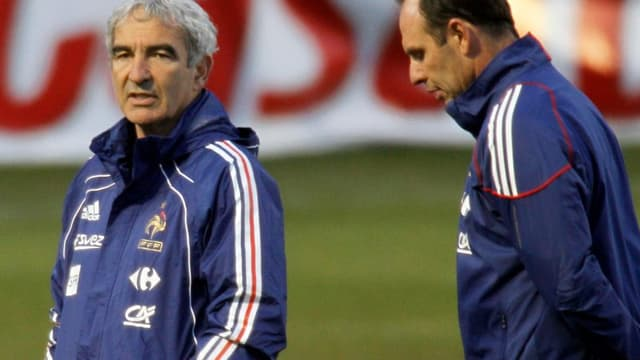 Raymond Domenech et Alain Boghossian