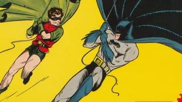 """Batman et Robin sur la couverture de """"Batman n°1"""", la BD du chevalier noir la plus chère au monde"""