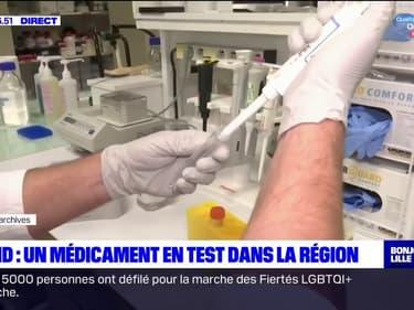 Hauts-de-France: début du test d'un médicament contre le Covid-19