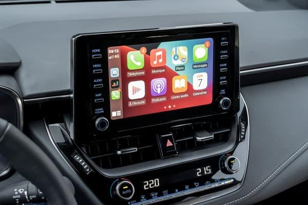 La Suzuki Swace offre une compatibilité avec les GPS des différents smartphones