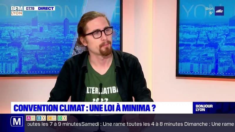 Convention climat: Charles de Lacombe, militant écologiste, regrette les propositions non retenues par le gouvernement