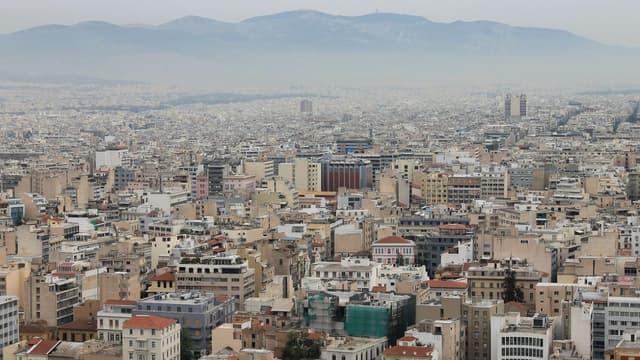 La ville d'Athènes