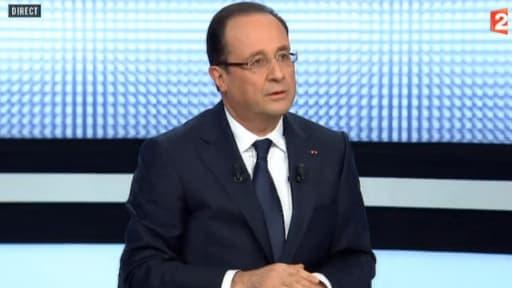 François Hollande s'est exprimé durant plus d'une heure, jeudi 28 mars, sur France 2.
