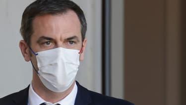 Le ministre de la Santé Olivier Véran, le 24 mars 2021 à Paris
