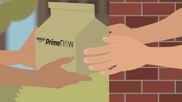 Capture d'écran, vidéo promotionnelle d'Amazon.