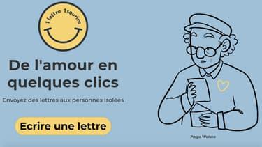 Le programme propose aux Français d'envoyer des lettres aux personnes âgées résidant en Ehpad