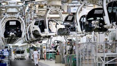 """L'usine de Wolfsburg , ici en photo, risque d'être gagné par des mesures de """"flexibilisation du temps de travail""""."""