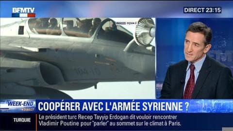 Lutte contre Daesh: Laurent Fabius n'exclut pas la participation des forces du régime syrien