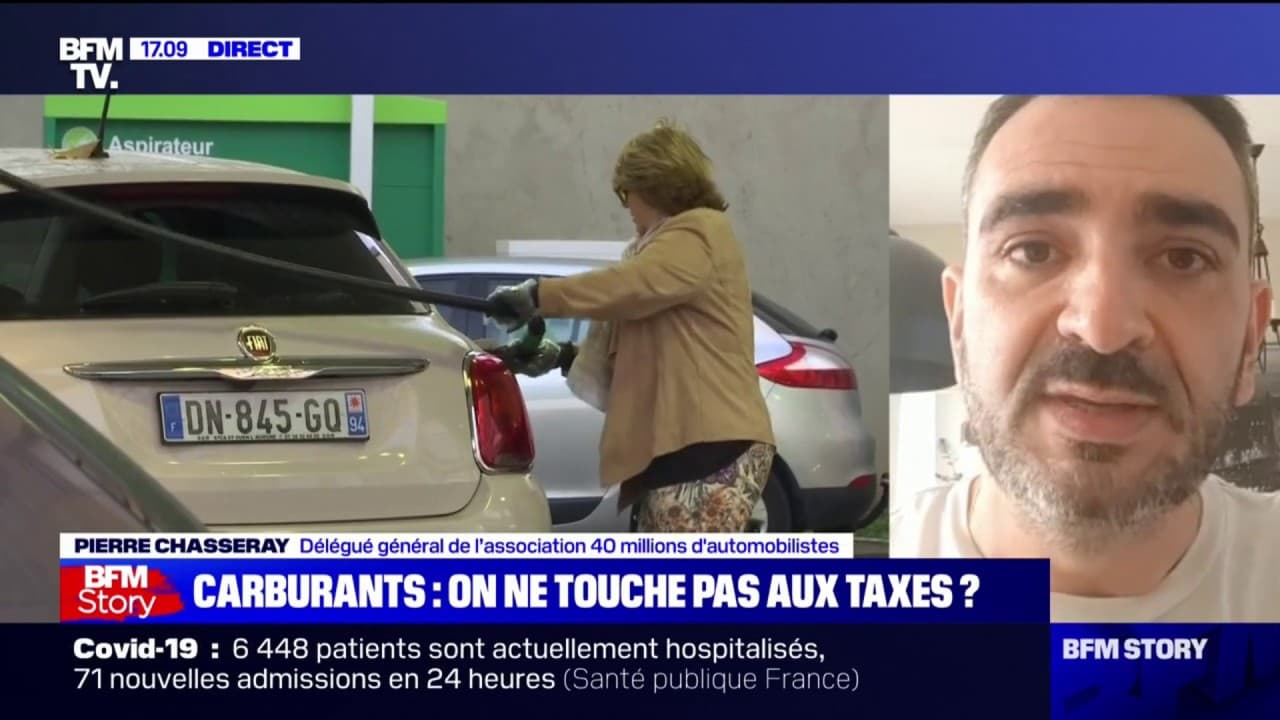 """Pierre Chasseray (40 millions d'automobilistes): """"On ne peut pas continuer à braquer tous les jours les automobilistes à la station-service"""""""