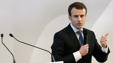 Emmanuel Macron cite la BCE comme exemple d'institutions européennes qui fonctionnent