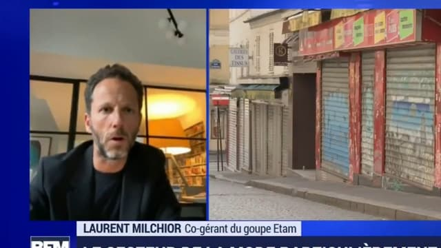 Laurent Milchior, co-gérant d'Etam