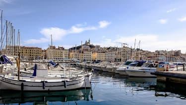 Le Vieux Port à Marseille (image d'illustration)