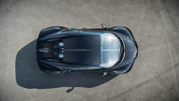 La Bugatti Chiron visera en 2018 un record de vitesse de pointe