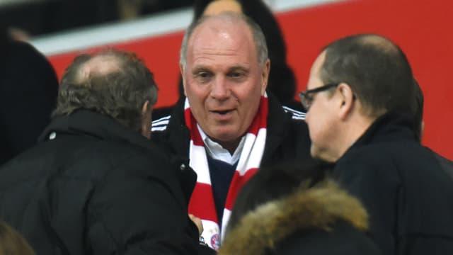 Uli Hoeness, président du Bayern Munich.