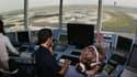 Des contrôleurs aériens dans une tour de contrôle de de Roissy CCG. (illustration)
