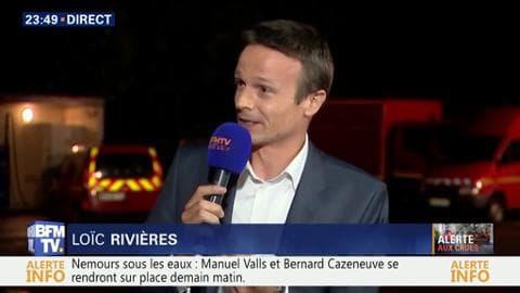 """Crues en Seine-et-Marne: """"La décrue mettra beaucoup de temps à se faire"""", Loïc Rivières"""