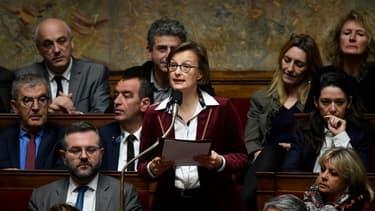Stella Dupont, députée LaREM de Maine-et-Loire, le 18 décembre 2018