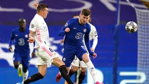 Timo Werner lors du match Chelsea-Real Madrid, le 5 mai 2021