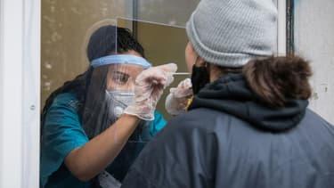 Test de dépistage du coronavirus - Image d'illustration