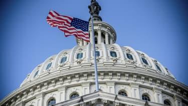 Le dôme du Capitole, siège du Congrès américain, à Washington le 29 décembre 2020