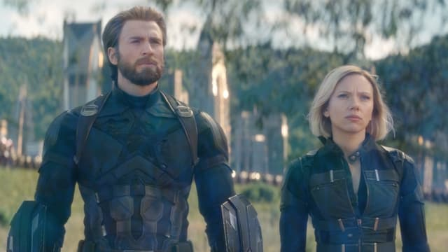 """Chris Evans et Scarlett Johansson dans """"Avengers Endgame"""""""