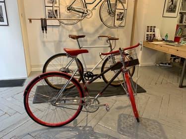 Louis Vuitton a confié à Maison Tamboite la réalisation de son premier vélo, le LV Bike
