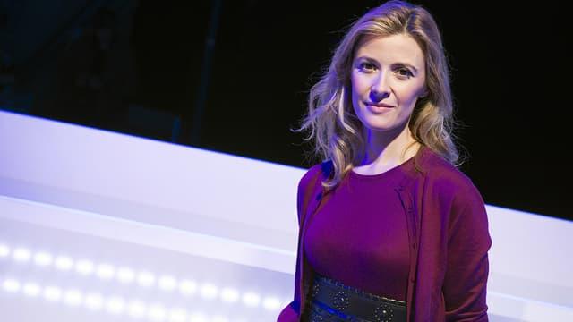 Elisabeth Bost sur le plateau de D8 en 2012