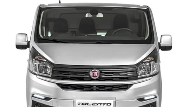 Le Fiat Talento est produit à  partir de la plate-forme de l'utilitaire Trafic de Renault.