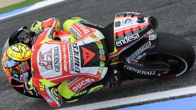 Valentino Rossi découvrira Donington