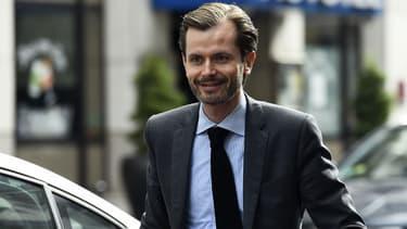 Le député LR de l'Yonne Guillaume Larrivé, le 11 juillet 2017 au siège des Républicains à Paris.