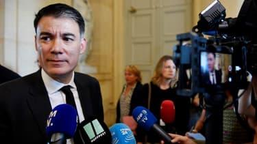 Olivier Faure à l'Assemblée nationale le 31 juillet 2018.