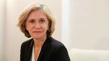 Valérie Pécresse, candidate à l'investiture des Républicains pour l'élection présidentielle, le 5 octobre 2021 à Paris